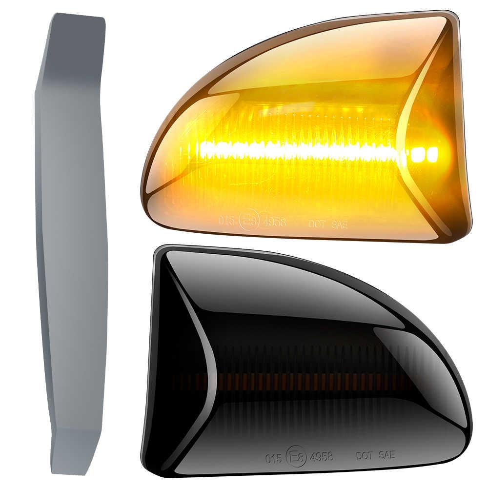 Pair of Side Fender Lamp Light Repeater Marker for Smart fortwo 451 08-15