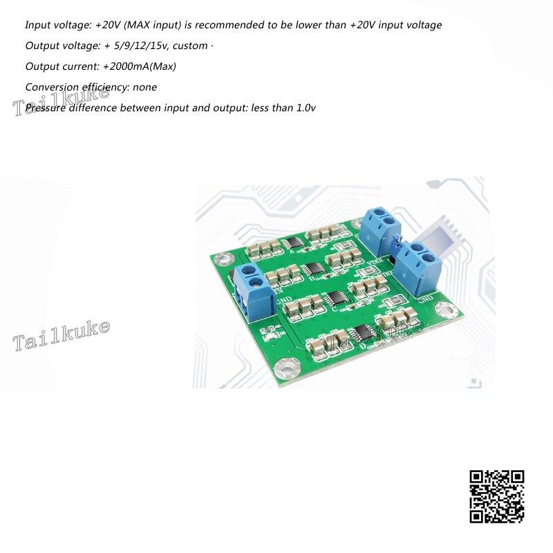 LT3045 Module Positive Pressure Power Module Four Parallel Parallel Low Noise Linear Power Supply RF Power Module