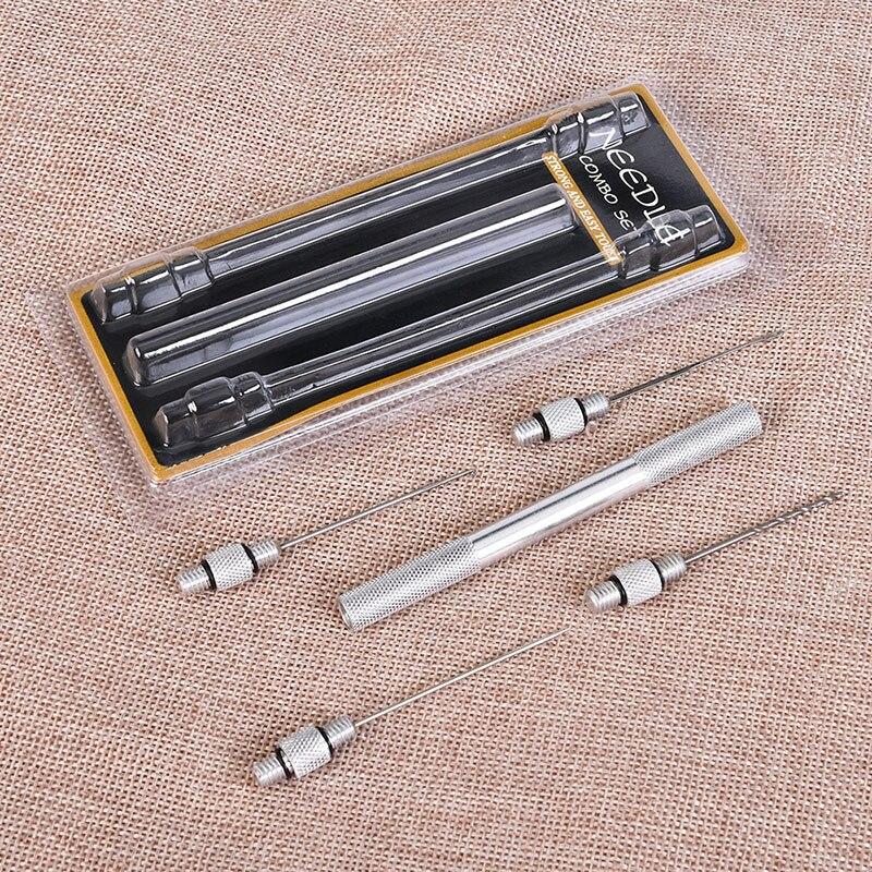 Carp Strong Fishing Rigging Bait Needle Kit Fishing Tools Bait Drill Stringer Needle With Nonslip Handle Fishing Needle Pesca