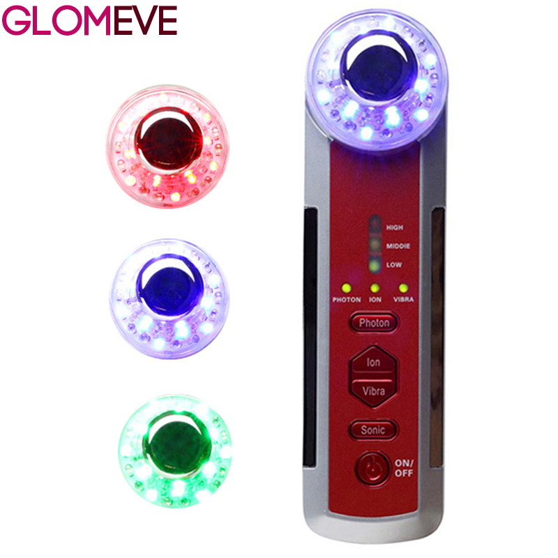 RF Radio Frequency Facial Skin Rejuvenation EMS Body Massager LED Photon Skin Care Device Facial Lifting Tighten Beauty Machine