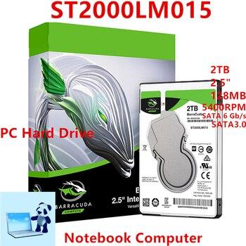 "Nowy dysk twardy dla Seagate marki BarraCuda 2TB 2.5 ""SATA 6 Gb/s 128MB 5400 obr/min dla wewnętrzny dysk twardy dla notebooka HDD dla ST2000LM015"