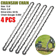 Chainsaw-Saw Replacement-Chain for 4pcs/Set 35CM 3/8-/52dl