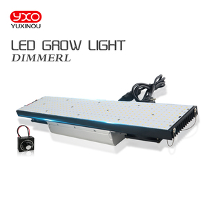 Image 2 - 2020 Newest Dimmable 408 Samsung lm301h 3000K 3500K 660nm Red quantum tech led board 240W Led Grow Light Full Spectrum