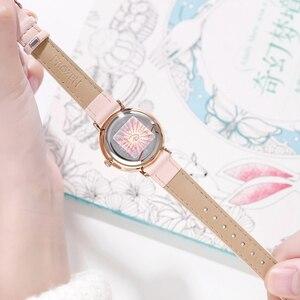 Image 4 - ดิสนีย์แช่แข็งชุดเจ้าหญิง Elsa Snow อินเทรนด์หรูหรานาฬิกาเด็กเด็กผู้หญิงรัก Noble นาฬิกาควอตซ์นักเรียนนาฬิกาของขวัญ