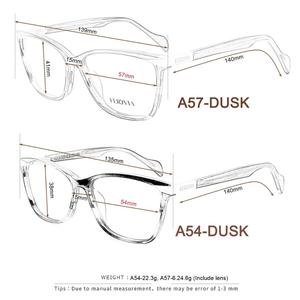 Image 5 - Nieuwe Vlinder Bril Vierkant Frame Modieuze Bril Frame Mooie Print Eyewear Voor Vrouw FVG7138