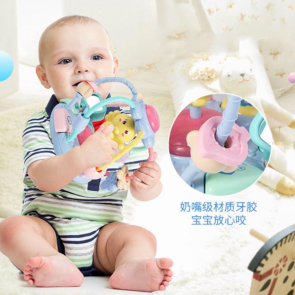 mão mordedor chocalhos bebê brinquedos 0-12 meses