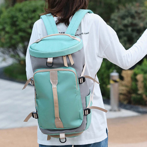 Image 3 - 女性のジムバッグバックパックフィットネス袋屋外ショルダーバッグ Gymtas Tas 嚢デスポーツ Mochila 2020 学生 Sportbag XA891WA