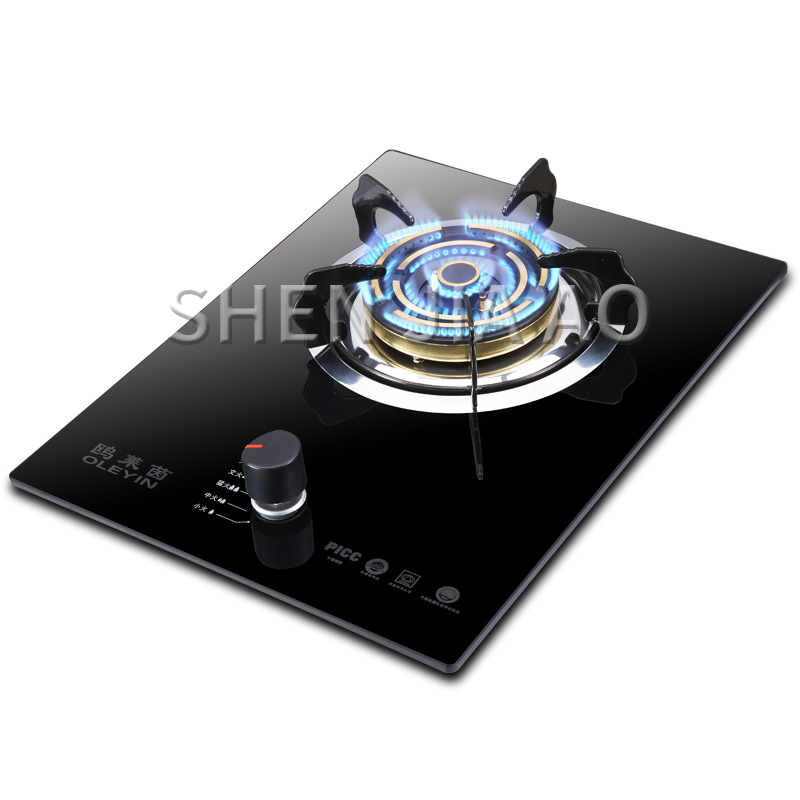 Household Gas Stove Gas Cooktops Natural /liquefied Gas Energy-saving Fire Stove Thermocouple Protection Tempered Glass Panel