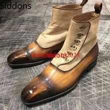 men dress shoes pu leather slip on Business zapatos de vesti
