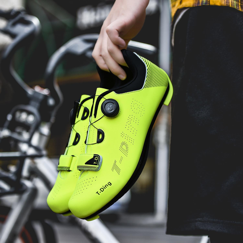tornozelo alto triathlon sapatos de bicicleta EU35-47