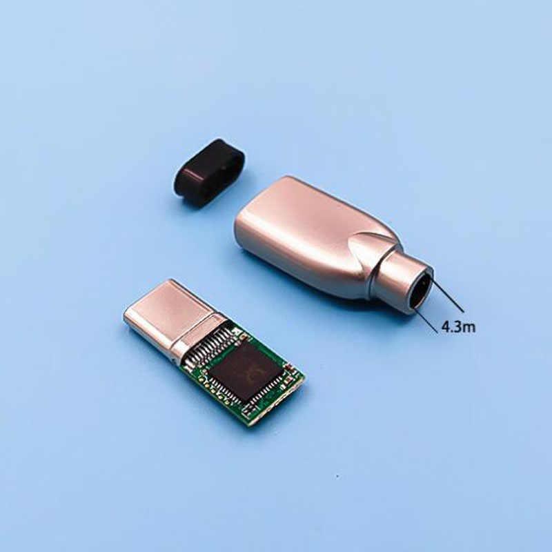 ALC4042 układ dekodera DAC 312bit 384khz type-c cyfrowy interfejs chipowy type-c wtyk męski/shell/cały zestaw