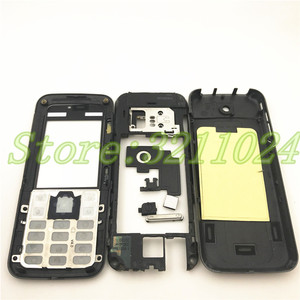 Image 2 - Новинка, чехол хорошего качества с полным покрытием, задняя крышка и английская клавиатура для Nokia 5310 с логотипом