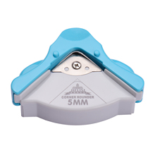 Portable Corner Rounder R5 Round Corner Trimmer Cutter 5mm for Card Photo Invitation Laminating Pouches