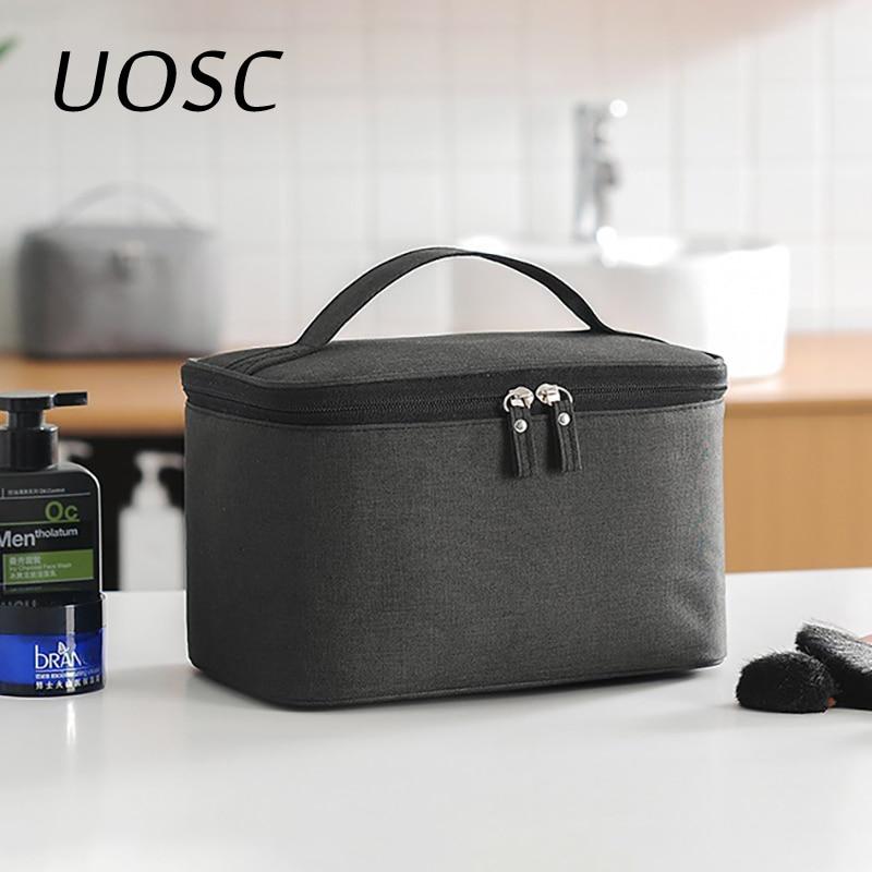 UOSC New Multifunction Travel Cosmetic Bag For Men Women Makeup Bags Toiletries Organizer Waterproof Female Storage Make Up Case