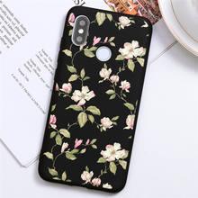 Colorful Floral Leaves Phone Case For Xiaomi Mi Poco F2 A3 CC9 CC9e Note 10 9 8 9T Pro Lite SE Explorer TPU Silicone Case Coque