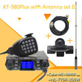 QYT KT-980 PLUS высокая мощность 75 Вт VHF/55 Вт UHF двухдиапазонный четырехдиапазонный режим ожидания KT-980Plus функция DTMF Мобильная рация