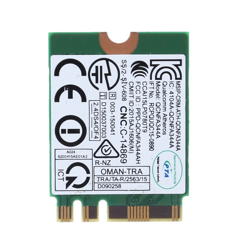 Wireless Adapter Card for Dell Wireless 1820 DW1820 WLAN WiFi 802.11AC + BT 4.1 M.2 WIFI CARD D4V21 Accessories Kit 5
