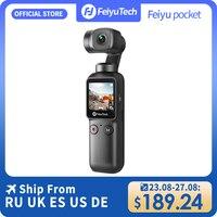 Feiyutech Feiyu Pocket Action Camera stabilizzazione a 3 assi 4K 60fps stabilizzatore da 270 minuti fotocamera integrata utilizzata con Smartphone