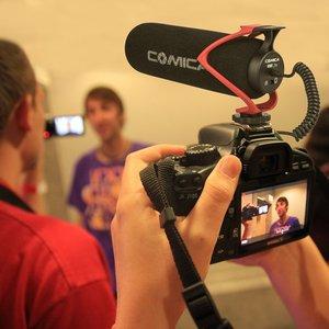 Image 4 - Comica V30 Lite のビデオ写真撮影録音マイク Vlog カメラ電話用マイク iphone サムスン S10 Note10