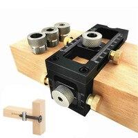 Localizador de taladro 2 en 1 para carpintería, punzón de cabeza plana oblicuo cruzado, tornillo, plantilla de cama, armario, tornillos, localizador de perforación