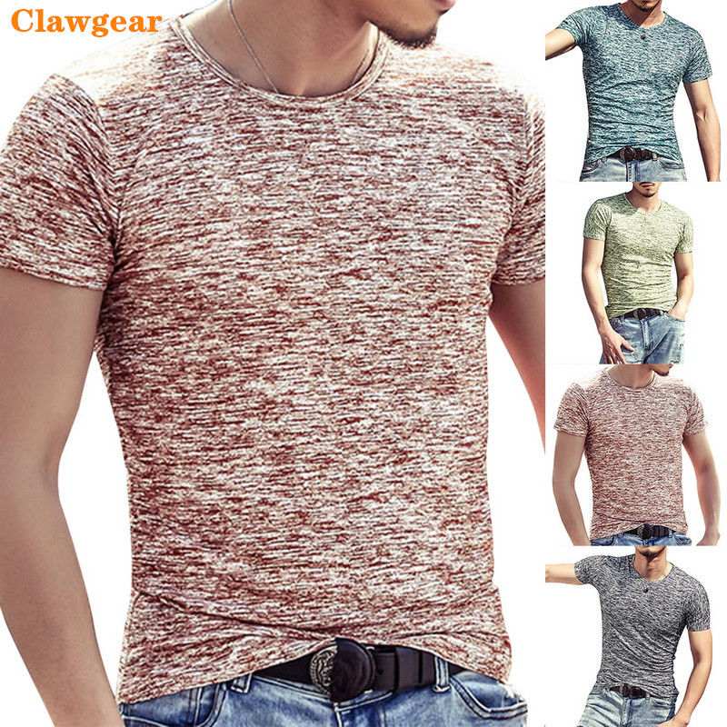 2019 New Clawgear Fashion Men T Shirts Summer Sports Running Top Tees Casual  Clothing Short Sleeve O Neck cotton Fitness Tshirt