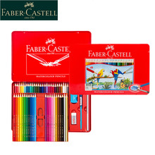 1 Set Faber-Castell Water Color Pencils 60/48/36/24/12Colour Set Tin Box Professionals Artist Drawing Painting Supplies