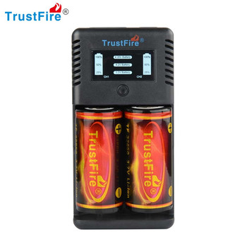 Trustfire TR-019 Intelligent Fast 2 Slots Battery Charger + 2 x TrustFire 3.7V 6000mAh 32650 Rechargeable Protected Batteries