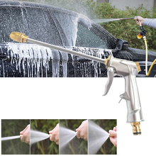 High Pressure Power Washer Water Gun Wet Water Spray Gun Car Washer Garden Hose Nozzle Spray Adjustable Cleaning Tool цена и фото