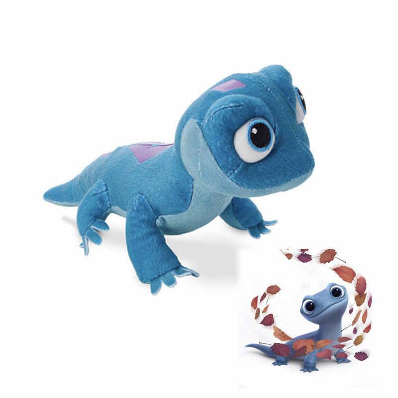 מכירה לוהטת 2020 חדש דיסני קפוא 2 אולף לטאה ממולא בפלאש בובת מסיבת קישוט פעולה איור לילדים צעצוע יום הולדת לילדים מתנה