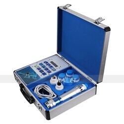 ¡Ampliamente aplicado! Máquina portátil de ondas de choque ED máquina de terapia de ondas de choque máquina de alivio de dolor articular ED tratamiento 7 transmisores
