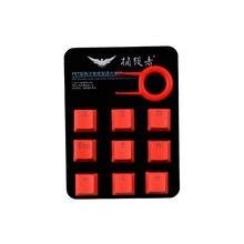 Клавиши для подсветки с 9 клавишами pbt механической клавиатуры