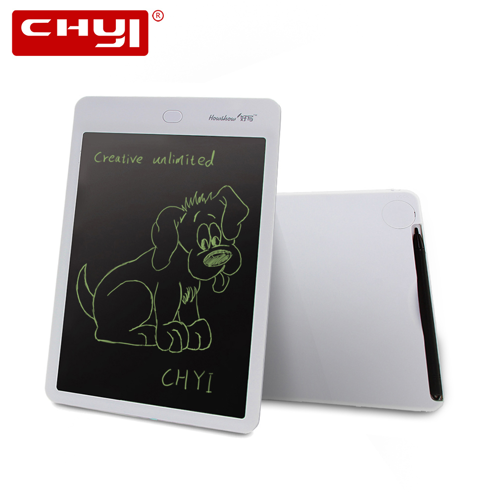 CHYI 10 Inch LCD Writing Tablet Digital Drawing Handwriting Pad Graphic Electronic Portable Mini Tablet For Writing Studying
