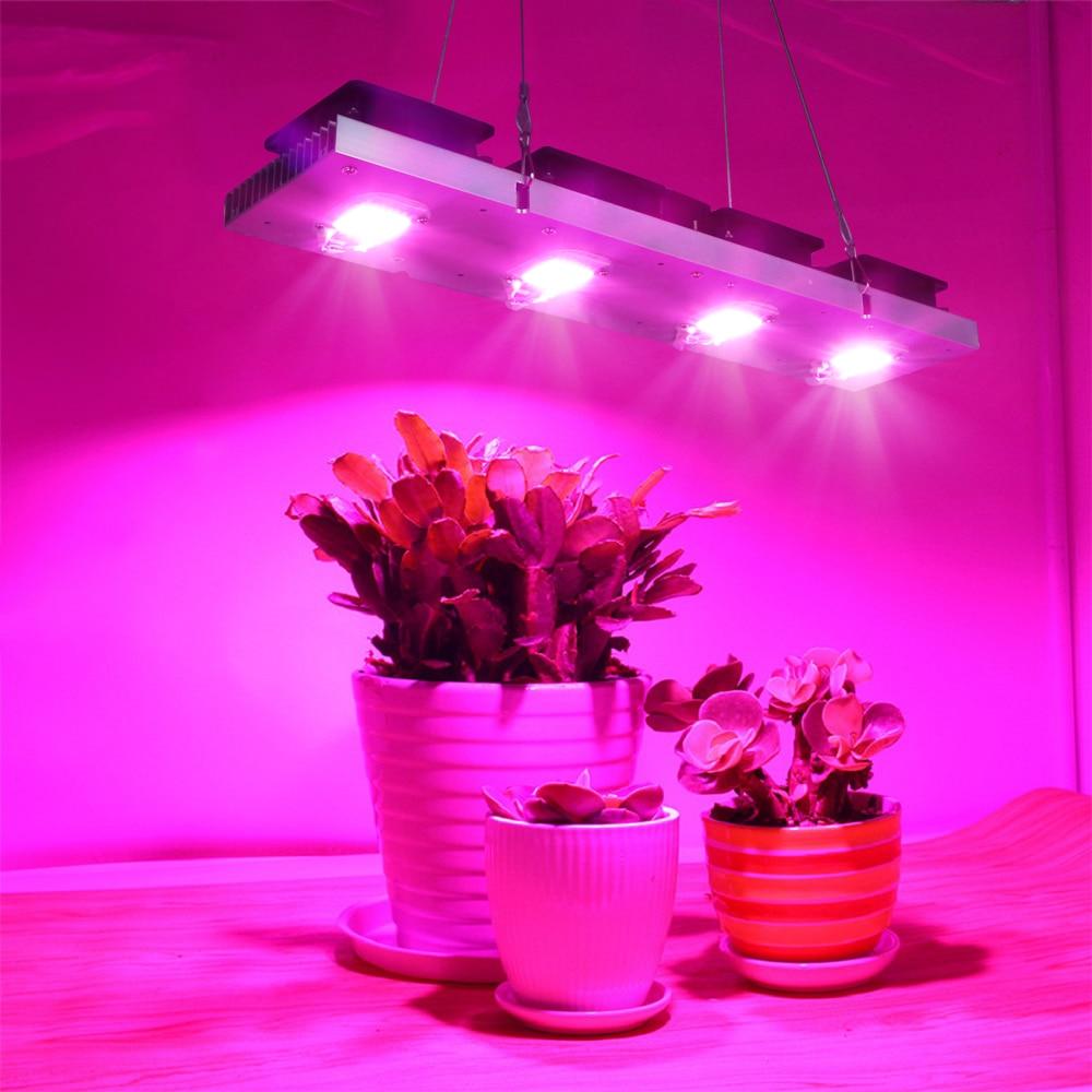 COB светодиодный Grow светильник полный спектр фактические Мощность 50W 100W 150W 200W светодиодный для сельскохозяйствнных ламп для всех комнатных р...