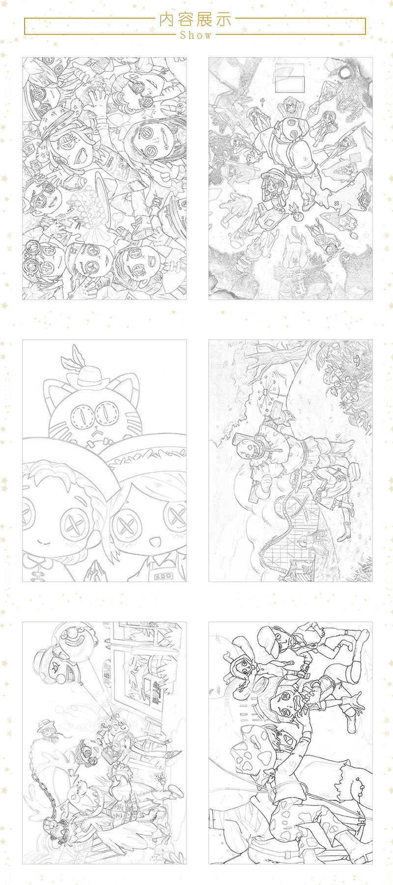 24 Pages Book Anime Identity V Coloring Book For Children Joseph Marta Painting Drawing Antistress Books A5 Imitated Copy Book Drawing Toys Aliexpress