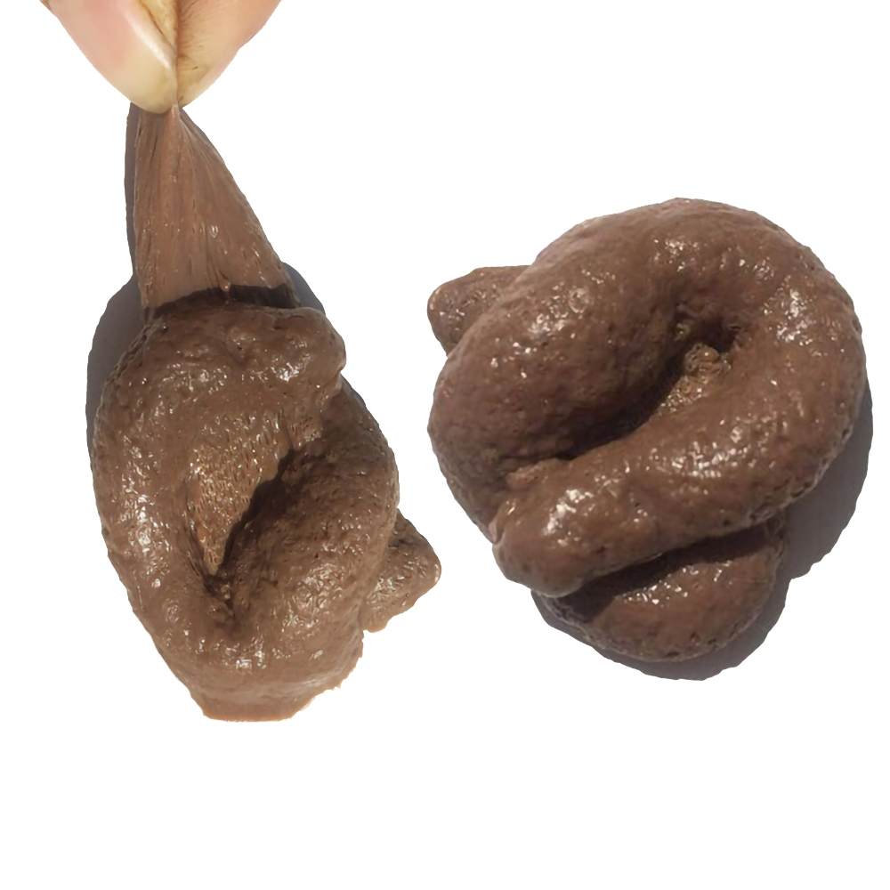 Realistic Shit Gift Funny Toys Fake Poop Piece Of Shit Prank Antistress Gadget Squish Toys Joke Tricky Toys Turd Mischief Gifts