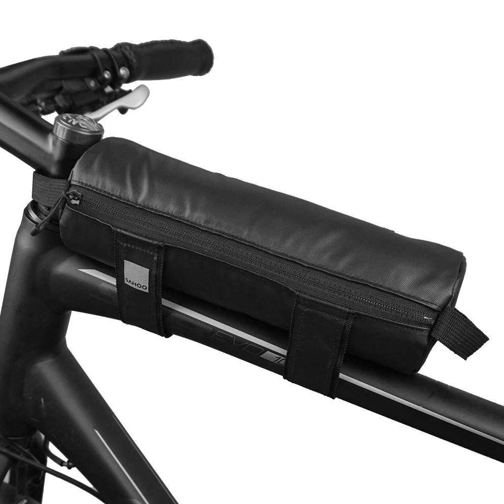 Mountain Bike Handlebar Bag Cycling Top Tube Bag Bike Bicycle Front Frame Strap On Storage Bag Cycling Accessories In Bicycle Bags Panniers From Sports Entertainment On Aliexpress