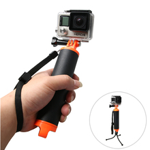 High Quality Buoyancy Stick Floating Hand Grip Handle Diving Stick for Xiaomi YI Gopro Hero 7 6 5 4 3+ Action Camera Accessories portable mini floating ball underwater diving surfing swimming buoyancy ball float ball for gopro hero 7 6 5 4 3 sjcam xiaomi yi