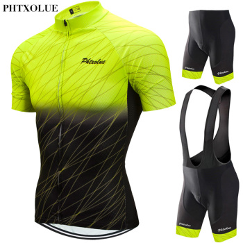 Phtxolue 2020 Cycling Set Men Cycling Clothing MTB Bike Clothes Breathable Anti-UV Road Bicycle Wear Cycling Jersey Set free shipping spartacus men top sleeve cycling jersey polyester bike clothes black breathable cycling clothing size s to 6xl