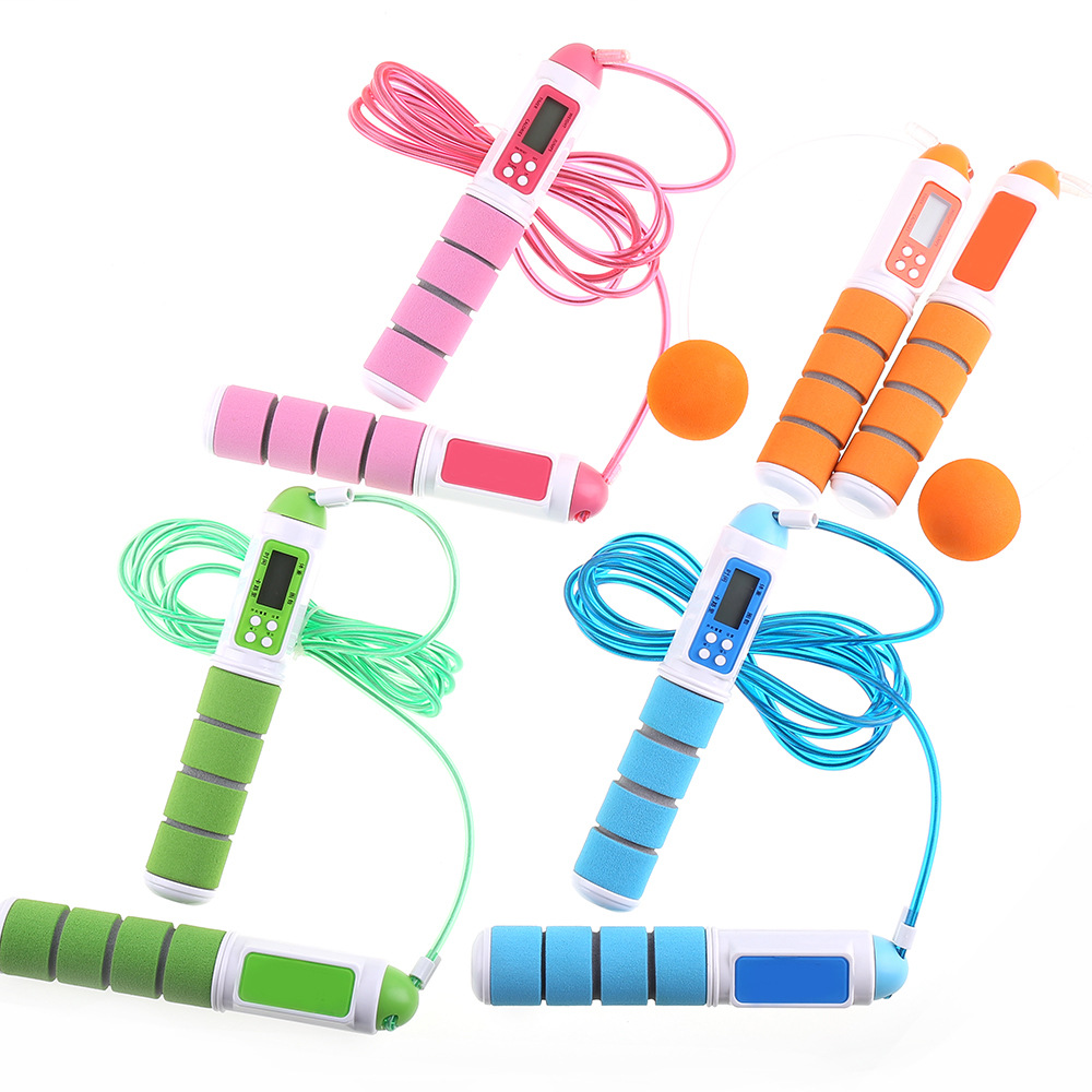 New Style Adult Fitness Electronic Skipping Rope Students The Academic Test For The Junior High School Students Count Jump Rope