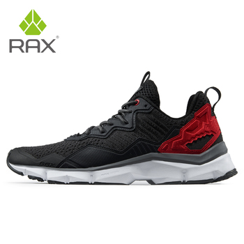 RAX Men's Cushioning Running Shoes Safe Night Running Outdoor Sports Brand Sneakers Men Trekking Shoes Male Gym Running Shoes li ning brand new arrival arc element lifestyle series women s cushioning running sports shoes for female arhk064 xyp105