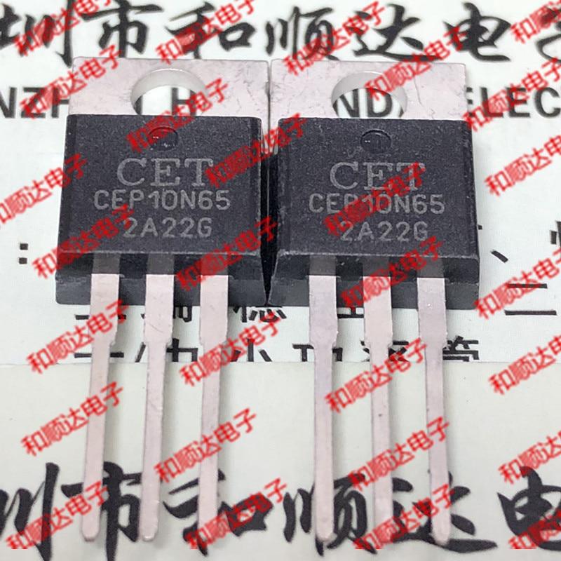 Новая (5 шт.) CEP10N65 TO-220 650V 10A