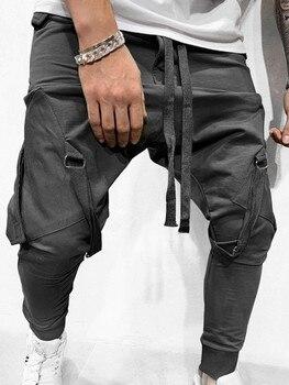 MARKA KRALI-Pantalones de chándal divertidos para Hombre, ropa de calle para correr, entrenamiento de Hip-Hop 1