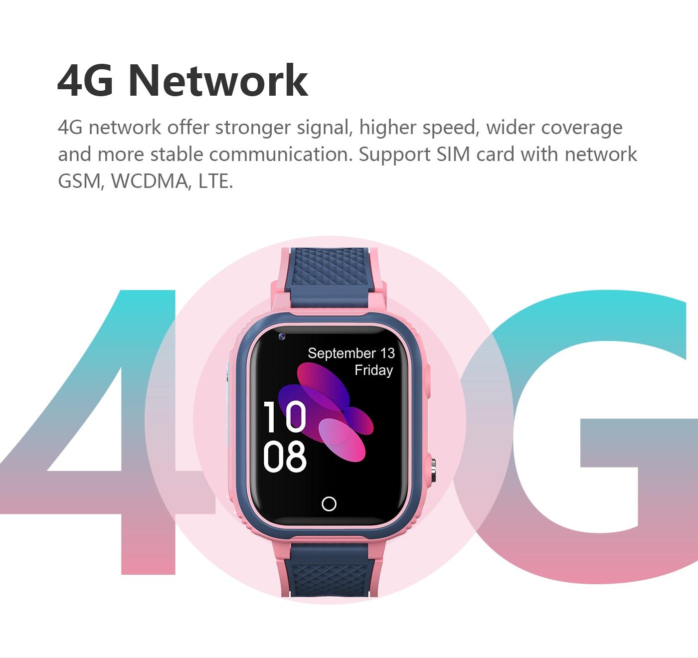 H088bb6d8e7a2454fa3049032211f62220 LT21 4G Smart Watch Kids GPS WIFI Video Call SOS IP67 Waterproof Child Smartwatch Camera Monitor Tracker Location Phone Watch