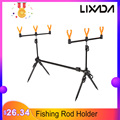 Lixada Fishing Rod Holder Stand Adjustable Retractable 125 cm Fishing Casting Rod Stand Tackle Accessory Bracket Carp for Pesca|Fishing Rods|Sports & Entertainment -