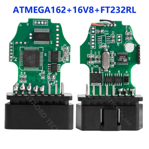 Image 2 - VAG COM 20.4 VAGCOM 20.4.2 HEX CAN USB 인터페이스 VW AUDI Skoda 좌석 VAG 19.6 다국어 ATMEGA162 + 16V8 + FT232RL