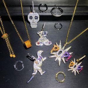 Женское Ожерелье и сережки из 100% стерлингового серебра 925 пробы в европейском стиле «Счастливый глаз», «Мишка Тедди», «череп динозавра»