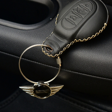 Car keychain car Interior accessories key rings decoration For MINI cooper F54 F55 F56 F57 F60 R60 R61 R55 R56 styling