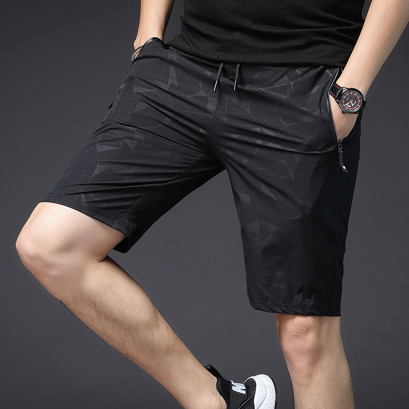 Camouflage Shorts Men Casual Bermuda Masculina Compression Beach Shorts Summer With Zipper Pockets  Streetwear Printed Xxxl New