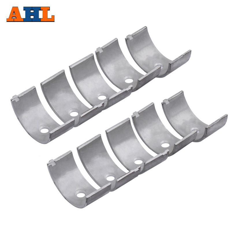 AHL 10Pcs STD +25 +50 Motorcycle Main Crankshaft Bearing For <font><b>KAWASAKI</b></font> <font><b>ZXR250</b></font> ZXR250R ZXR250RR ZR250 BALIUS 250 ZXR ZR 250 image