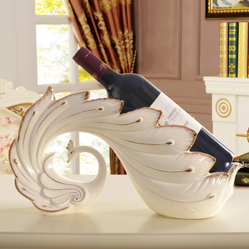 Home Decoration Accessories For Living Room Modern Wine Rack Cup Holder White Luxury Christmas Gift Home Decoration CC50XBJ